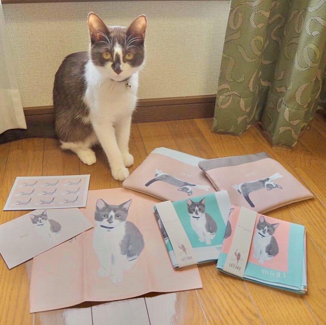 猫のmugiちゃん Famille うちの子グッズ